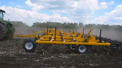 Equipment for handling of the soil. Stock Footage