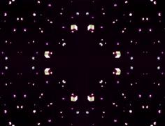 Abstract kaleidoscope animation Stock Footage