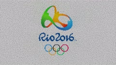 Rio 2016 Summer Olympics Logo Reveal Stock Footage