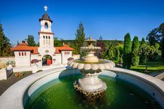 Curchi Orthodox Christian Monastery, Moldova Stock Photos