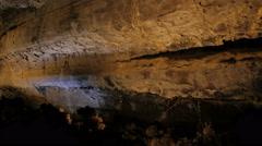 The darkness and mystery in a cave- Cueva de los Verdes (Lanzarote) Arkistovideo