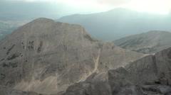 Stunning Rocky Mountain Range Handheld 4K Stock Footage
