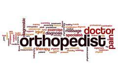 Orthopedist word cloud Piirros