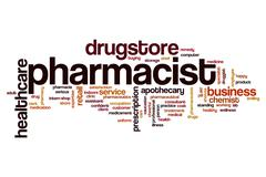 Pharmacist word cloud Piirros