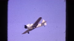 1964: taking flight to your destination ELMIRA, NEW YORK Stock Footage