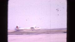 1964: good takeoff ELMIRA, NEW YORK Stock Footage
