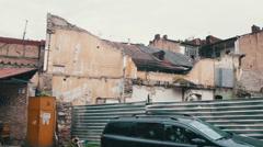 Old Town Tbilisi, Georgia Stock Footage