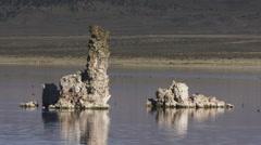 Tufa columns at Mono Lake - Mono Lake 007 HD Stock Footage Stock Footage