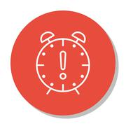 Vector Illustration Of Project Management Icon On Deadline And Time Managemen Stock Illustration