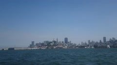 San Francisco Skyline Wide Shot Stock Footage