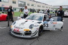 Vallelunga, Rome, Italy. September 10th 2016. Porsche 911 on starting grid Kuvituskuvat