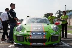 Vallelunga, Rome, Italy. September 10th 2016. Porsche Carrera Cup Kuvituskuvat