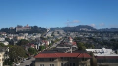 San Francisco Richmond District Stock Footage