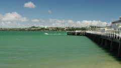 View of Devonport Stock Footage