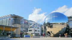 Bristol planetarium millenium square uk  Stock Footage