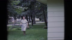 1966: Woman to Woman- Raking Tips to Help Keep Housewives Sane.CLARKDALE, Stock Footage
