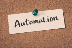 Automation Stock Illustration