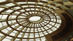 Ceiling In Liverpool Central Library,UKIn Liverpool Central Library,UK Stock Footage