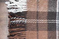 Wool plaid Stock Photos