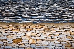 Traditional architecture of Dalmatia view Stock Photos