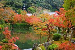 Eikando temple with Fall color, Kyoto Stock Photos