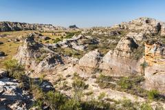 Isalo National Park, Ihorombe Region, Southwest Madagascar, Africa Stock Photos
