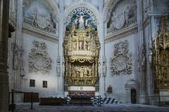 The Chapel of Purification (The Chapel of the Condestables), Burgos Cathedral, Stock Photos