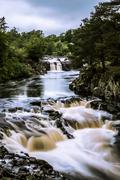 Low Force waterfall, Teesdale, England, United Kingdom, Europe Stock Photos