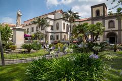 Piazza Sant Antonino, Sorrento, Costiera Amalfitana (Amalfi Coast), UNESCO World Stock Photos
