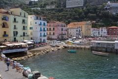 Marina Grande, Sorrento, Costiera Amalfitana (Amalfi Coast), UNESCO World Stock Photos