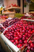 Fruit stall on Via C Cesario, Sorrento, Campania, Italy, Europe Stock Photos
