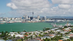 Elevated View of Devonport Stock Footage