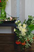 Amazing autumn bouquet Stock Photos