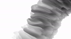 Seamless Loop - Abstract Futuristic Curve Stock Footage