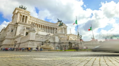 Altar of the Fatherland Stock Footage