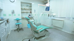 Interior dental office Stock Footage