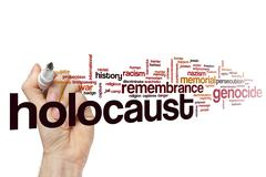 Holocaust word cloud Stock Illustration