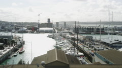 Elevated View of Viaduct Basin Stock Footage