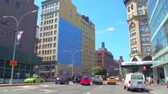 Broadway New York Stock Footage