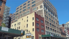 Motion video New York architecture Stock Footage