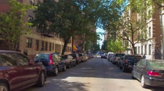 West 103rd Street NY Stock Footage