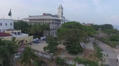 Church in Stonetown in Zanzibar Stock Footage