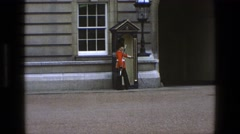 1969: the royal military perform daily IRELAND Stock Footage