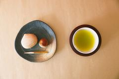 Japanese confectionery Stock Photos