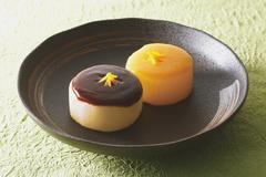 Japanese style radish dish Stock Photos