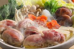 Japanese style casserole Stock Photos