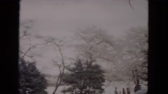 1953: driving through the park MILWAUKEE, WISCONSIN Stock Footage
