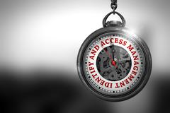 Identify And Access Management 3D Illustration Stock Illustration