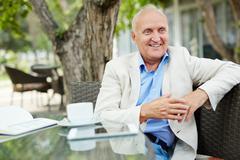 Happy retirement Stock Photos