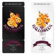 Vector Illustration, Invitation To a Halloween Party Stock Illustration